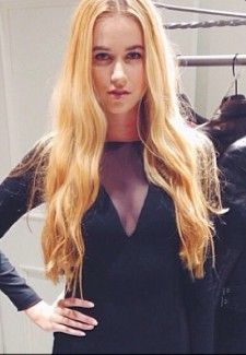 Backstage at Ralph Lauren.hair.MiriamKenly